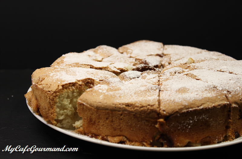 Charlotka (Gâteau russe aux pommes)