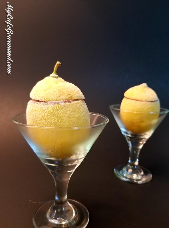 Lemon Shells Stuffed With Ice Cream