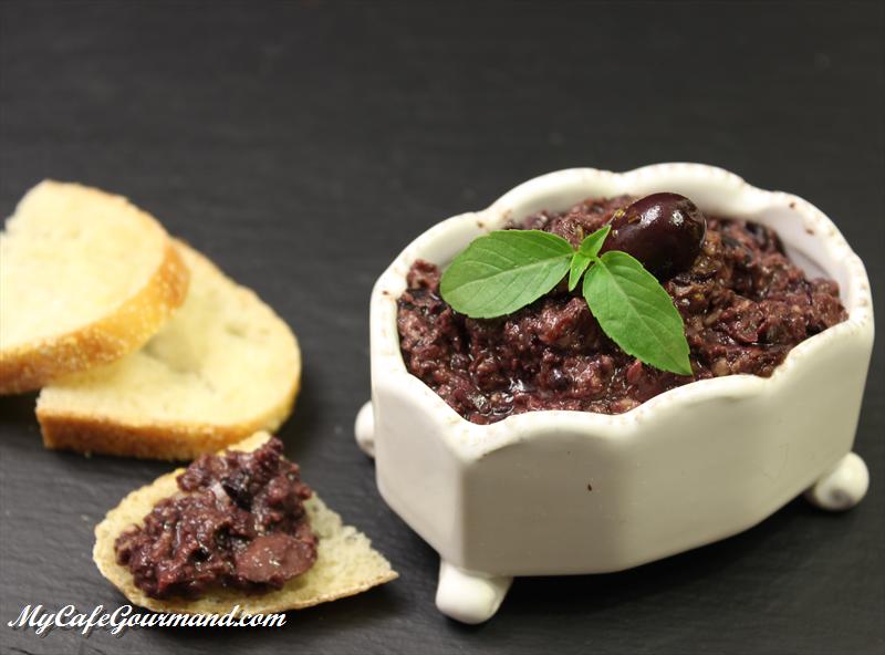 Homemade Olive Tapenade