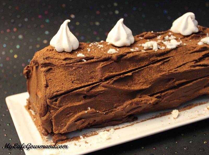 Chocolate Yule Log (Bûche de Noël)