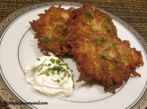 Potato Pancakes (Draniki)