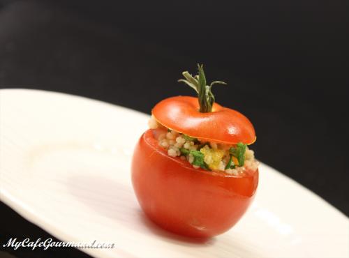 Табуле из кускуса со свежими овощами
