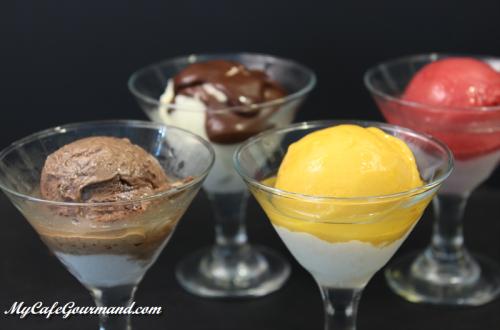 Как просто и красиво подать мороженое