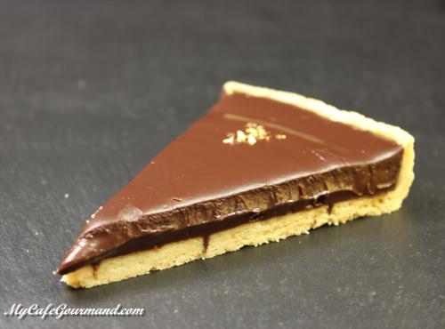 Stunning French Chocolate Tart