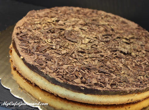 Грушево-шоколадный тарт